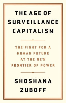 surveillance capitalism book