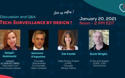 Pourquoi et Comment intégrer la «Privacy By Design» dans son entreprise ou association?