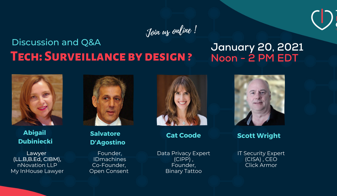 Q & A – Tech : Surveillance by Design ? January 2021