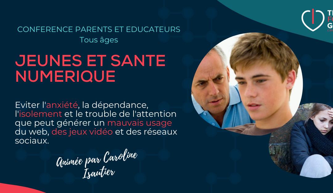 Conférence-atelier Parents et Educateurs francophones au Canada: Jeunes et Santé Numérique
