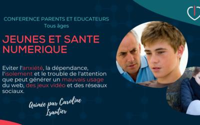 Conférence Parents et Educateurs ViaMonde (Toronto): Jeunes et Santé Numérique