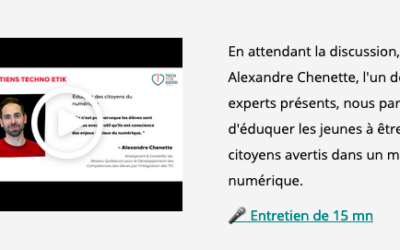 Infolettres et Invitations Tech for Good Canada