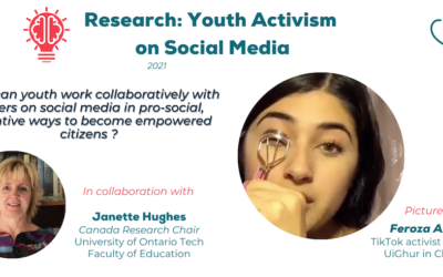 Research Project with Ontario Tech Faculty of Education to Explore How Youth Can Develop Activism on Social Media