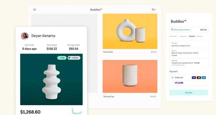 shopify shop visual